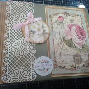 Album scrap con encaje de pasta flexible